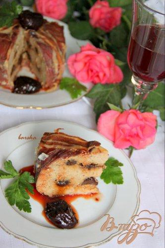 Свиной террин с коньяком и черносливом