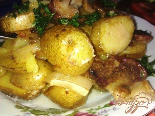 Картошечка с грудинкой