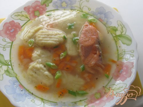 Итальянские клецки от шеф-повара Майкла Смита и рыбный суп с ними