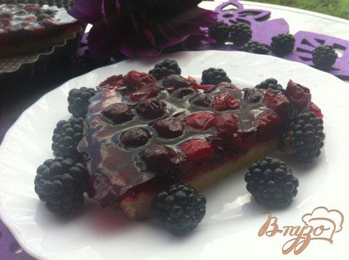 Пирог вишневый