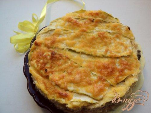 Вегетарианская лазанья с кабачками