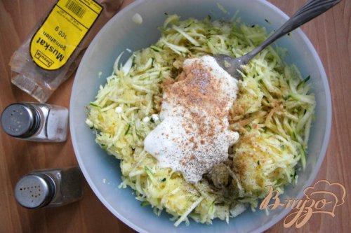 Пикантные решти из цукини и картофеля