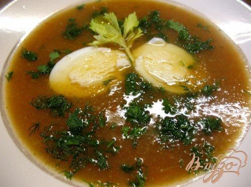 Летний суп.