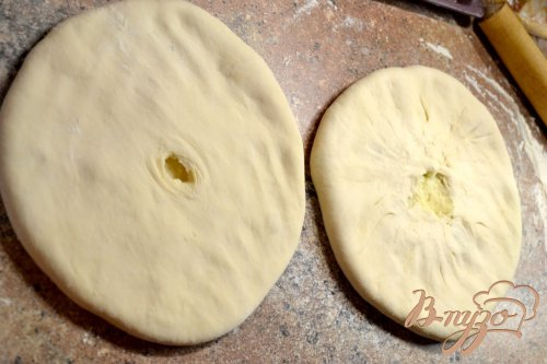 Осетинские пироги «Картофджын» – пирог с картошкой