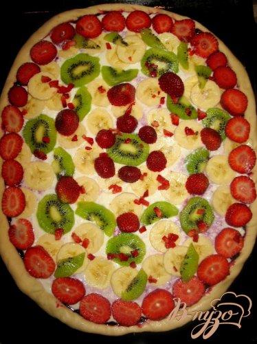 «Фруктово-ягодная пицца.»