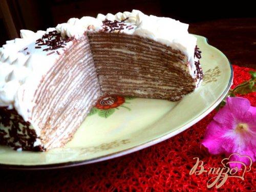 Торт из блинчиков