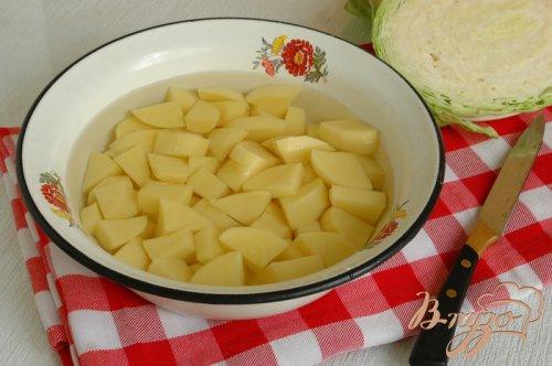Борщ постный с фасолью