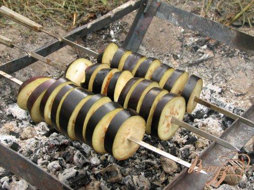 Баклажаны на мангале