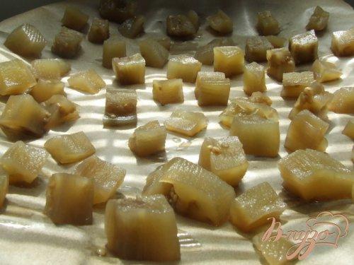 Цукаты из баклажанов