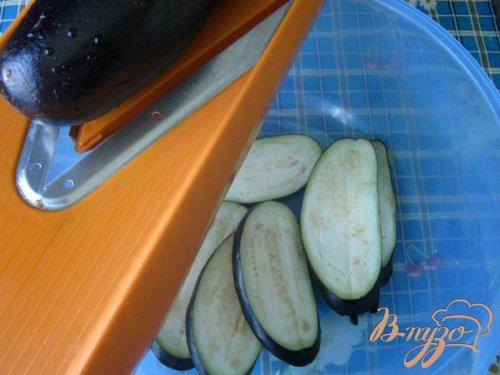 Баклажаны в лимонно-медовой карамели.