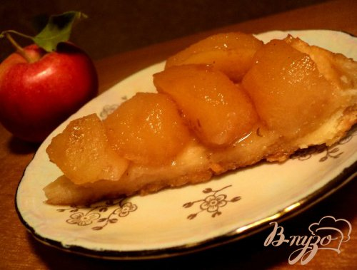 Тарт Татэн с яблоками ( или перевернутый пирог)