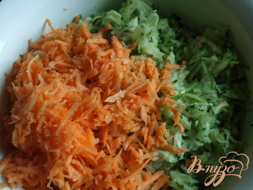 Оладьи из цуккини и моркови