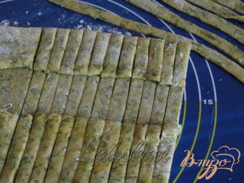 Домашние папарделли с грибным соусом