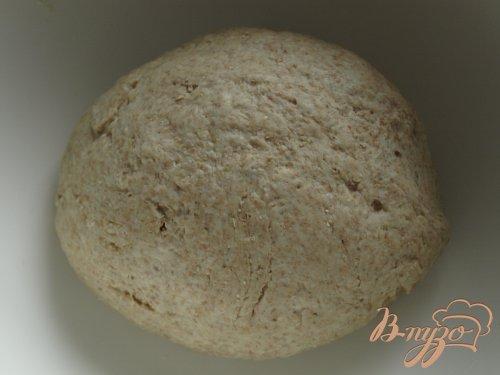 Горчичный хлеб из цельнозерновой муки с семенами льна