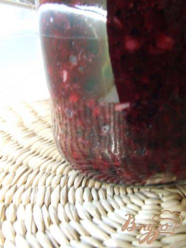 Соус из черноплодной рябины с чесноком