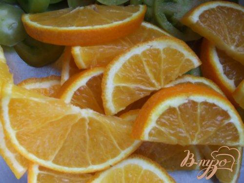 Джем из зеленых помидоров с апельсинами