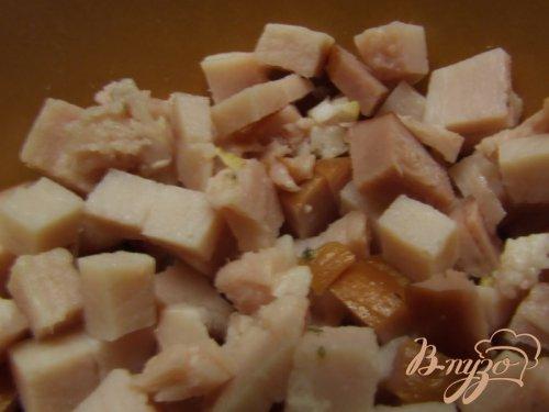 """Пестрые конфетти"" (яйца с салатом)"