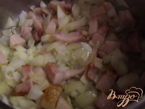 Картофельная бабка с грудинкой