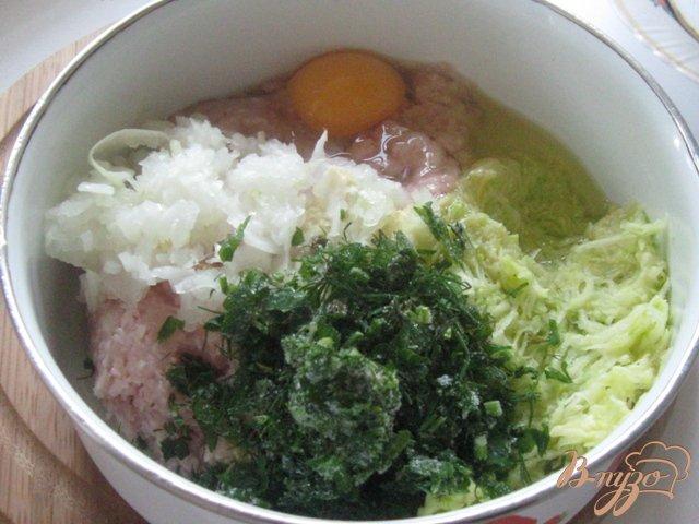 Фото приготовление рецепта: Котлеты  кабачковые с мясом на пару шаг №1