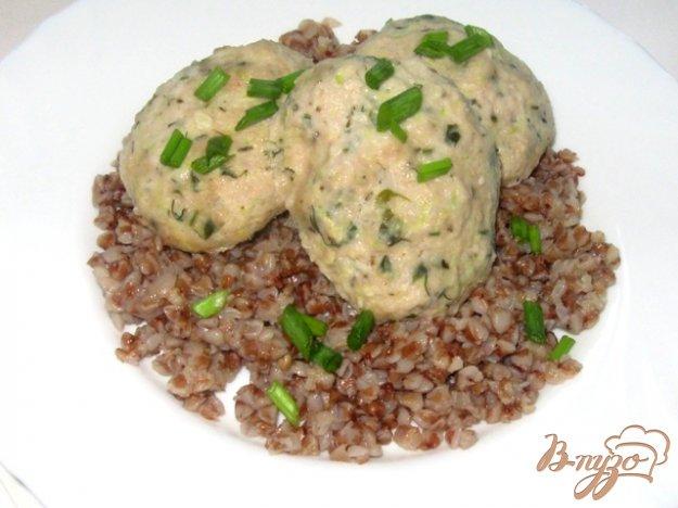 Рецепт Котлеты кабачковые с мясом на пару