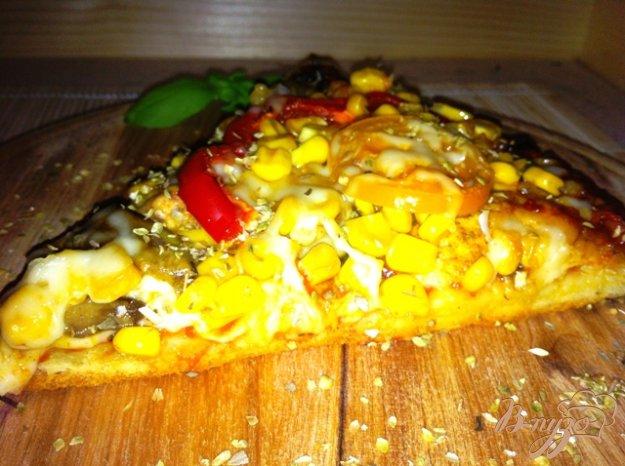 Рецепт Пицца с кукурузой