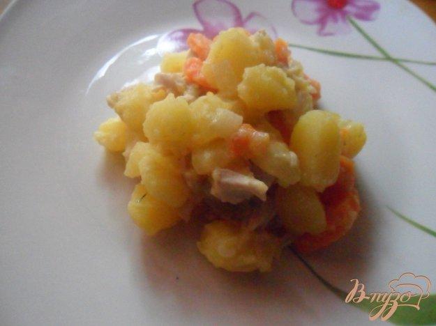 Рецепт Морковно-картофельное пюре с курицей