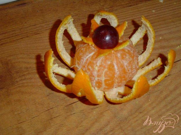 Рецепт Цветок из мандарина