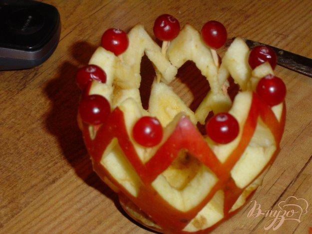 Рецепт Подсвечник из яблока