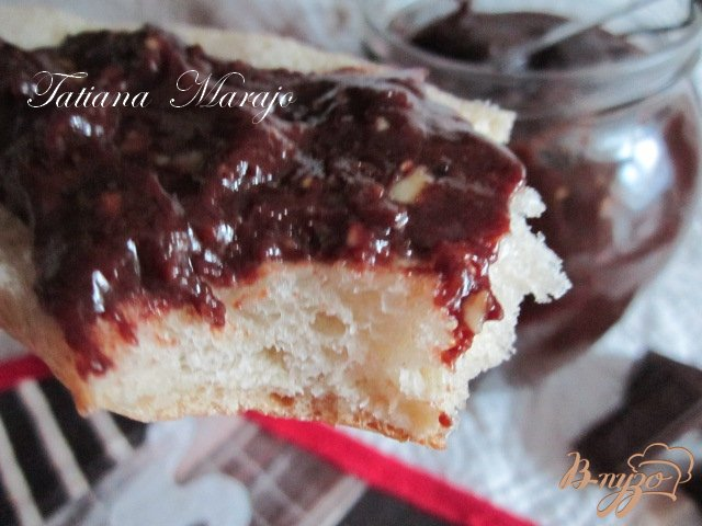 Фото приготовление рецепта: Шоколадная паста с лесными орехами шаг №4