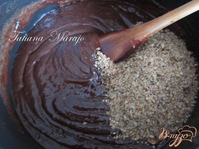 Фото приготовление рецепта: Шоколадная паста с лесными орехами шаг №2