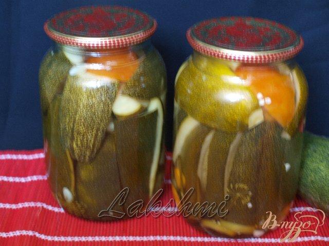 Фото приготовление рецепта: Закусочные кабачки шаг №3