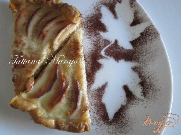 Рецепт Яблочный пирог с творогом..