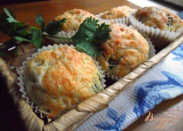 Рецепт Кексы с кинзой и тархуном