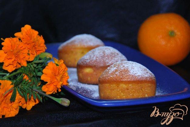 фото рецепта: Итальянский апельсиновый кекс - чамбеллоне (Ciambellone)