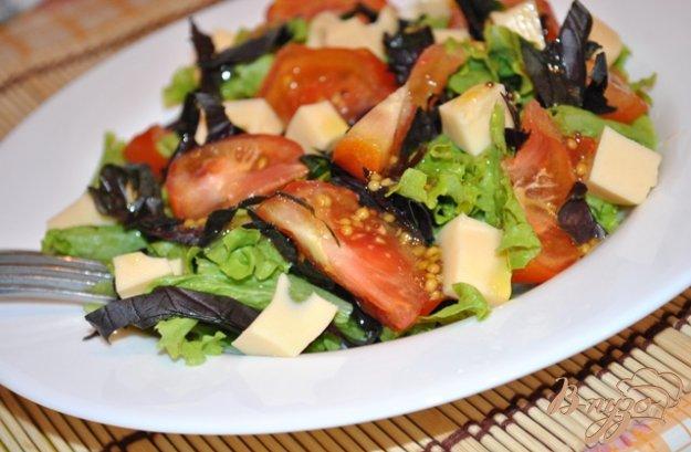 фото рецепта: Салат с помидорами и моцарелой