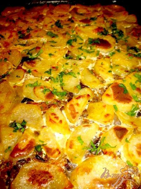 Фото приготовление рецепта: Грибы с баклажанами,картошкой... шаг №1