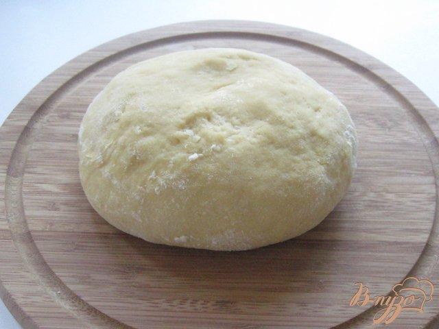 Фото приготовление рецепта: Пирог с яблоками и заварным кремом