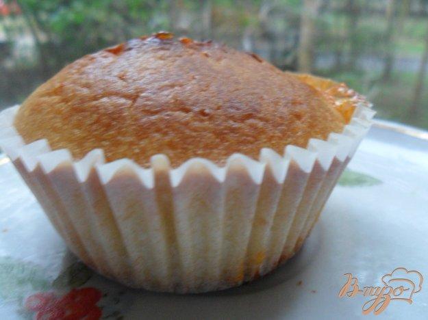 Рецепт Молочные маффины с абрикосовым джемом