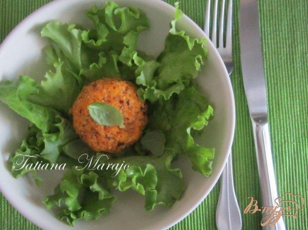 "Рецепт Салат ""Морковные шарики"""