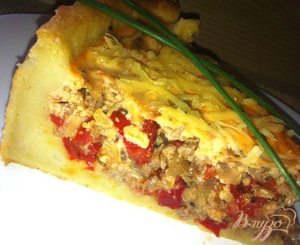 Рецепт Мясной пирог с болгарским перцем