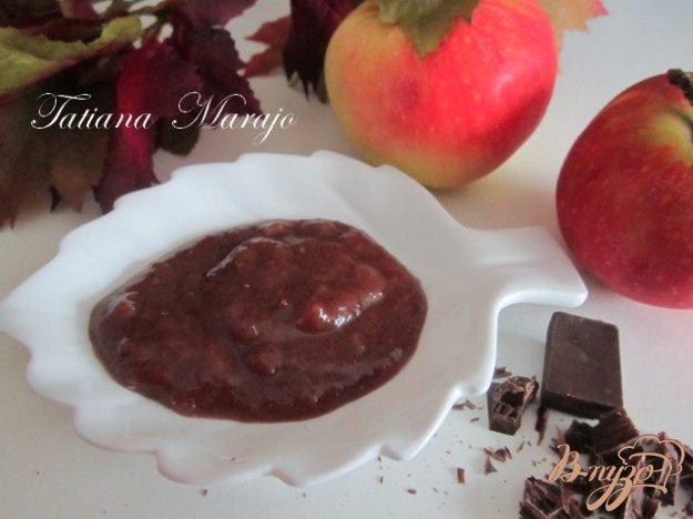 фото рецепта: Яблочно-шоколадный джем