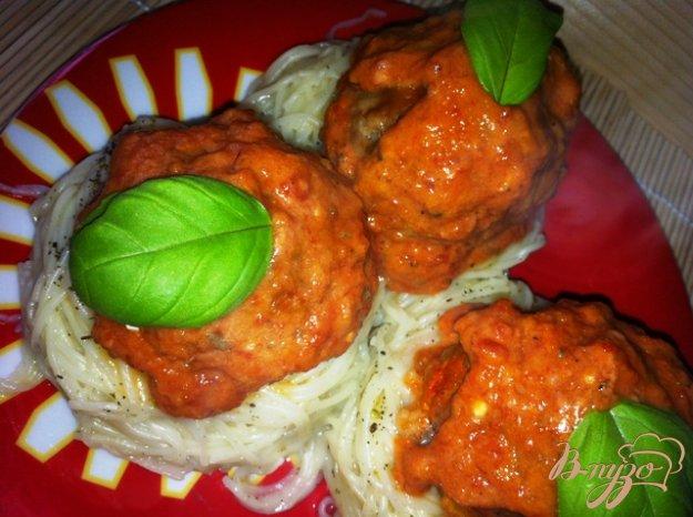 фото рецепта: Тефтели с томатным соусом