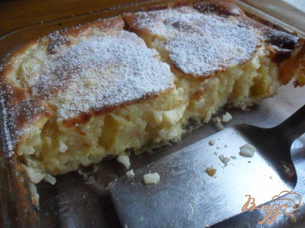 Рецепт Рисовый пудинг с яблоками и корицей