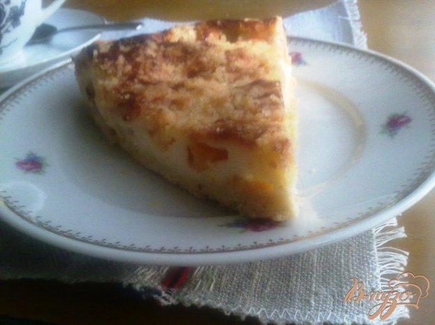 Рецепт Сливочный персиковый тарт
