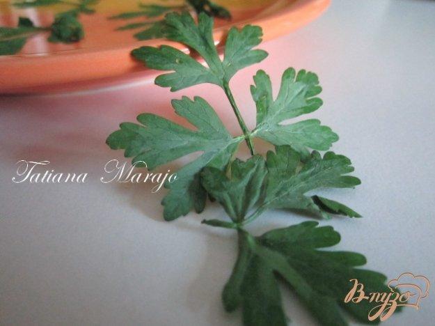 Рецепт Чипсы из петрушки (для украшения блюд)