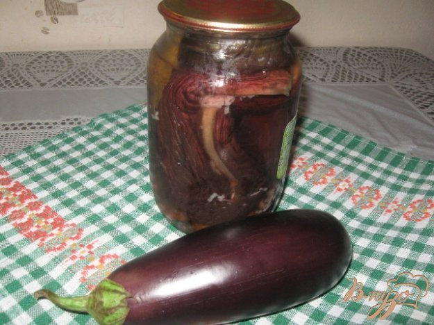 фото рецепта: Баклажаны консервированные