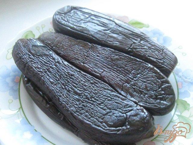 Фото приготовление рецепта: Баклажаны консервированные шаг №3