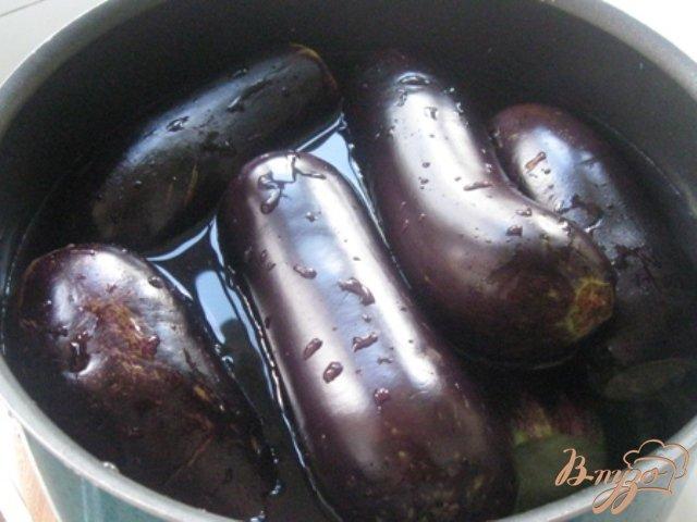 Фото приготовление рецепта: Баклажаны консервированные шаг №1