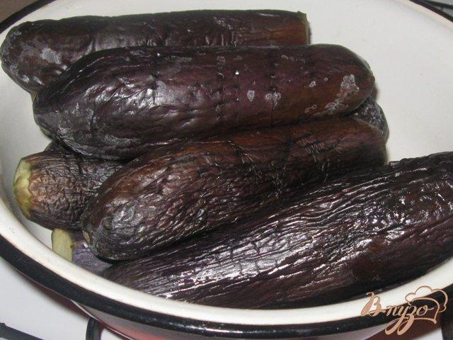 Фото приготовление рецепта: Баклажаны консервированные шаг №2