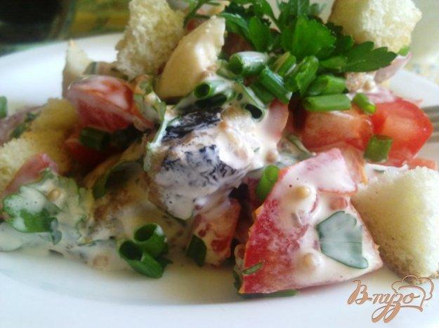 Рецепт Салат из шпрот с овощами